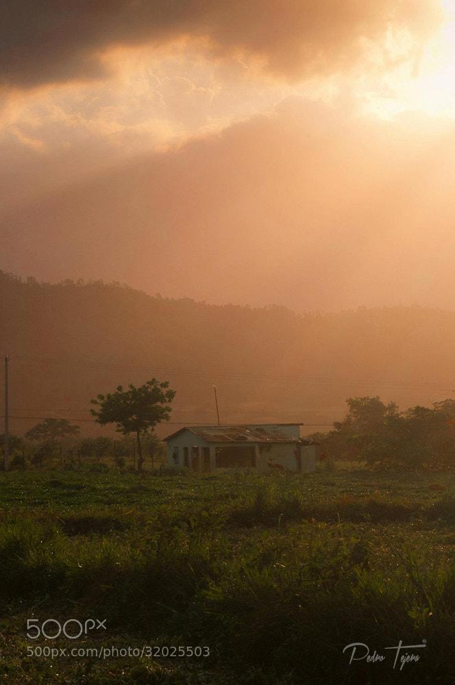 Photograph Jarabacoa Sunset by Pedro Tejera on 500px