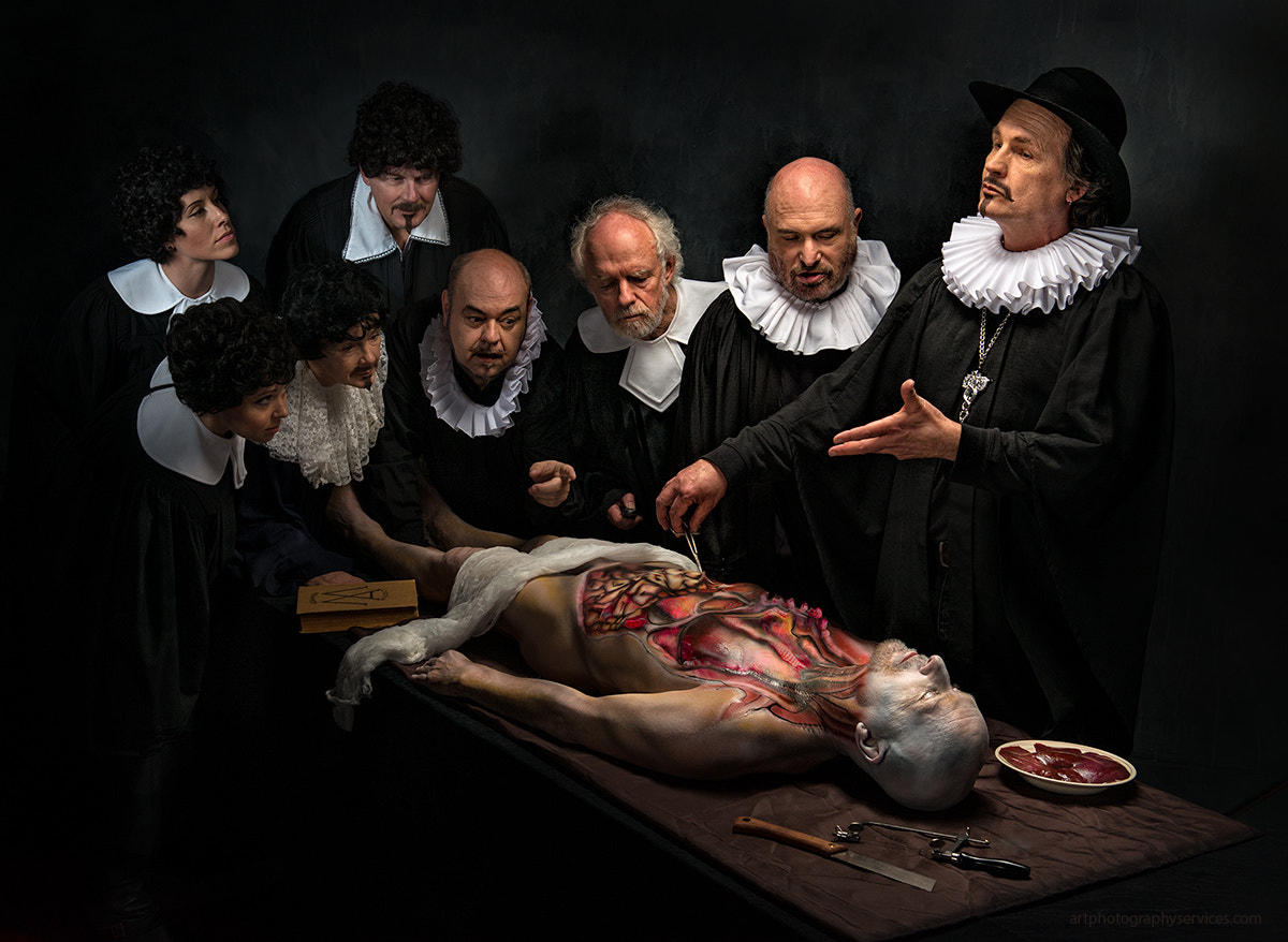 Photograph Anatomy Lesson by Derek Galon on 500px