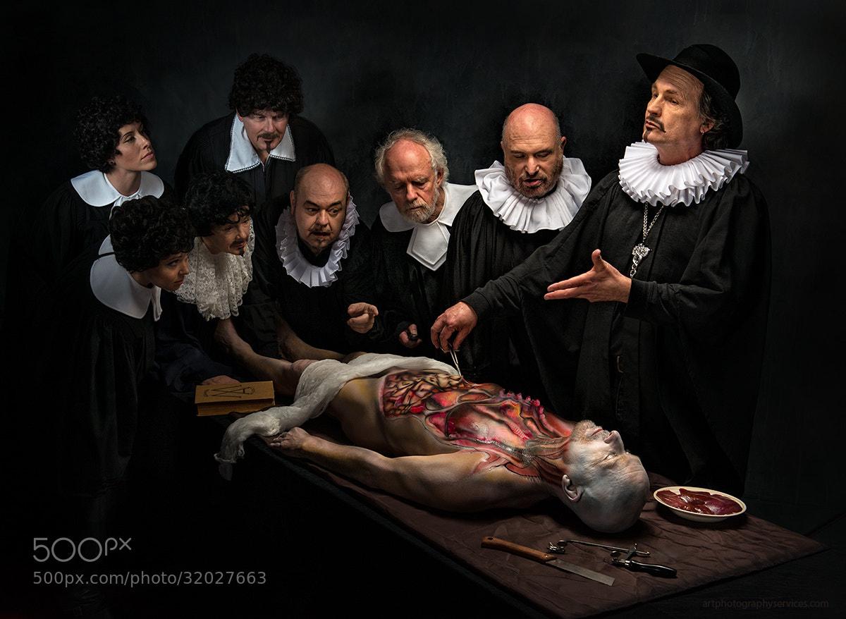 Photograph Anatomy Lesson by Derek Galon on 500px