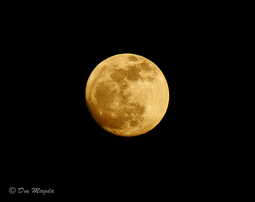 Photograph Tonight's moon  by mada dm on 500px