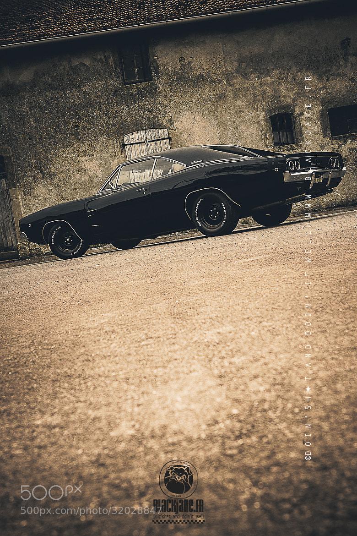 Photograph The Black MoPar by Black Jake on 500px