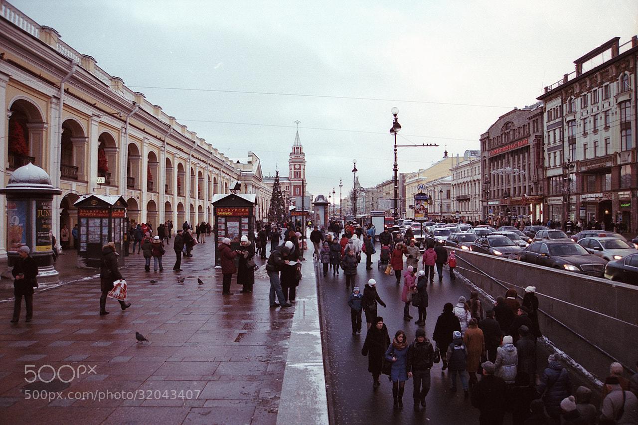 Photograph Nevsky Prospect by Aleksey Lubimov on 500px
