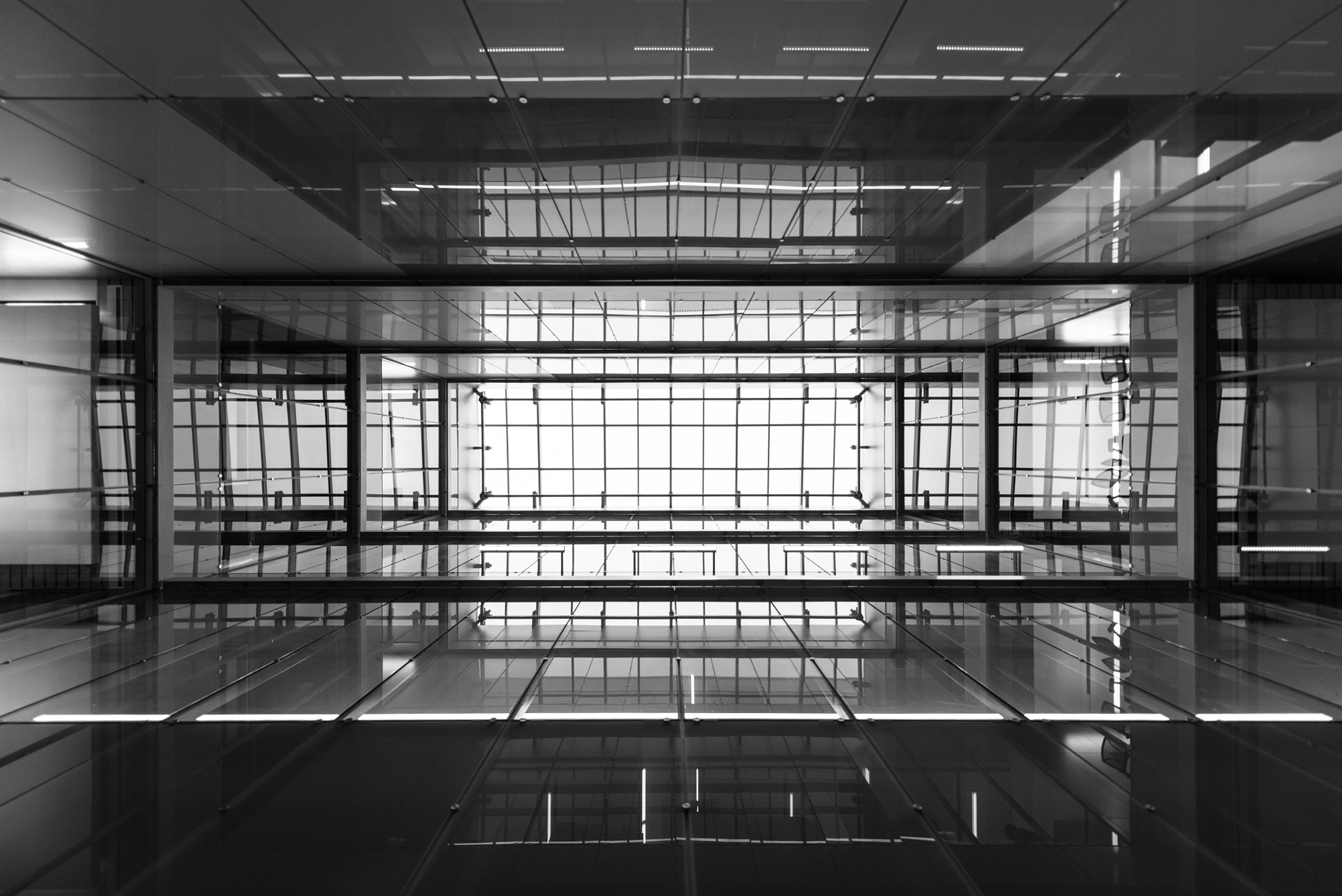 Photograph Glass Ceiling by Michael Choi on 500px