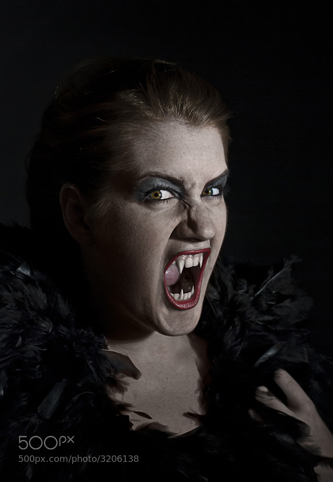 Photograph vampire by peterpank-media hamburg   on 500px