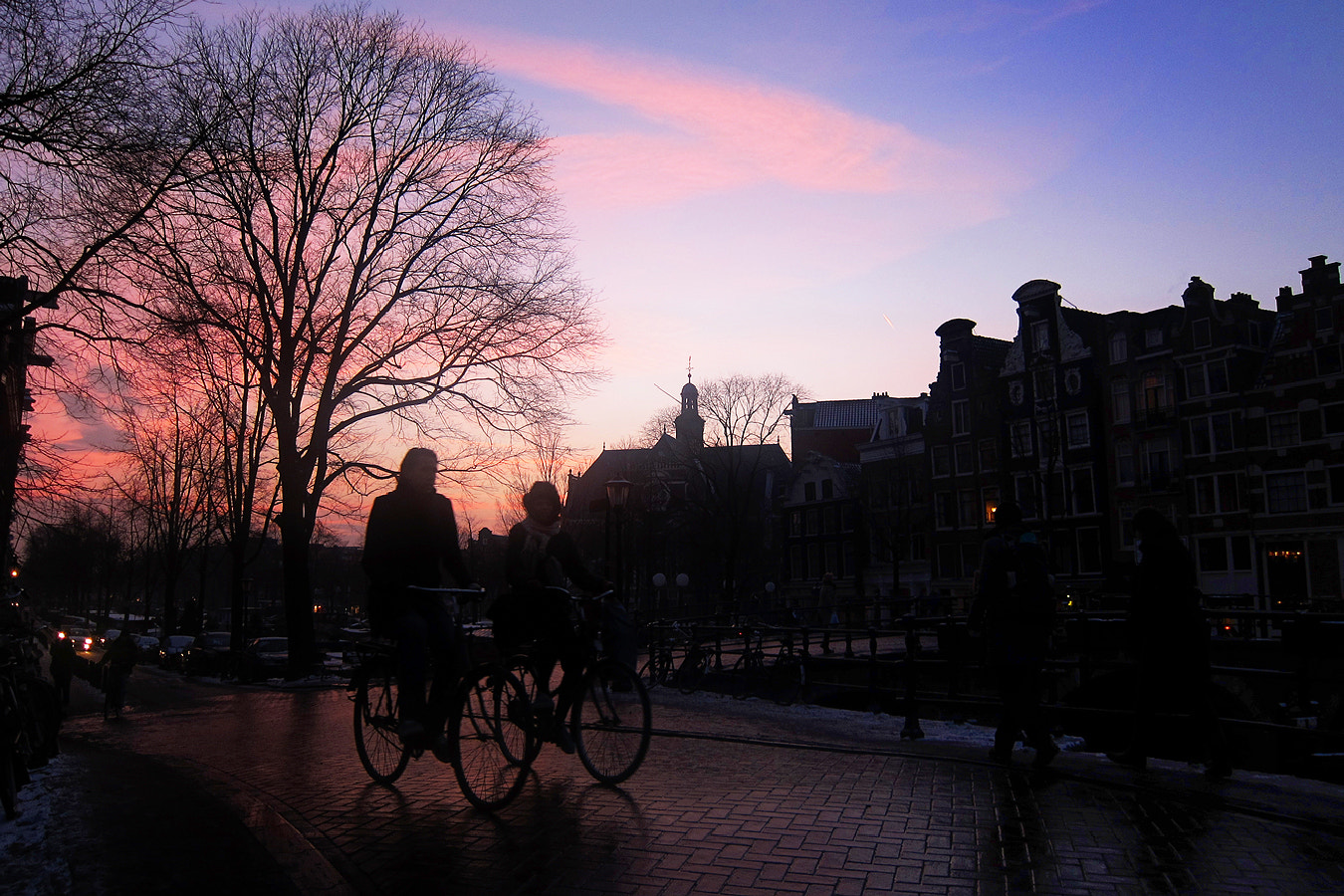 Photograph Sunset Amsterdam by Ricardo Ribeiro on 500px