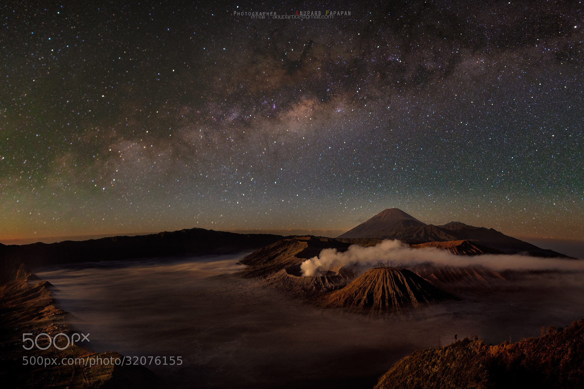 Photograph Bromo Mt. by Anuparb Papapan on 500px