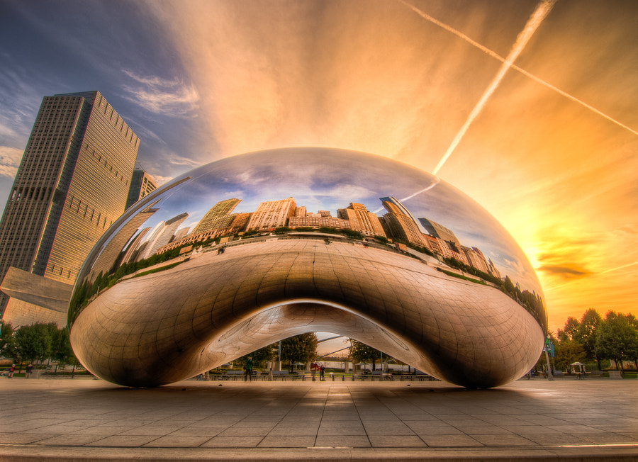 Photograph Cloud Gate, aka Chicago Bean by Ali Erturk on 500px