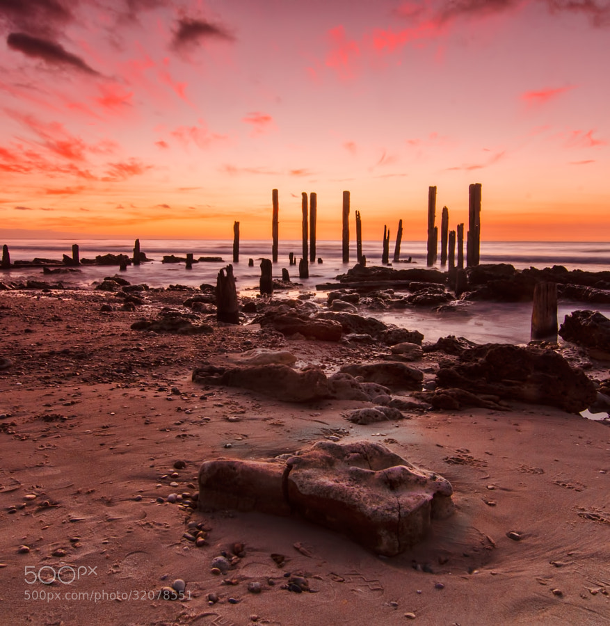 Port Willunga Jetty is always a pleasure trip for photographers especially when you get such colors at sunset.