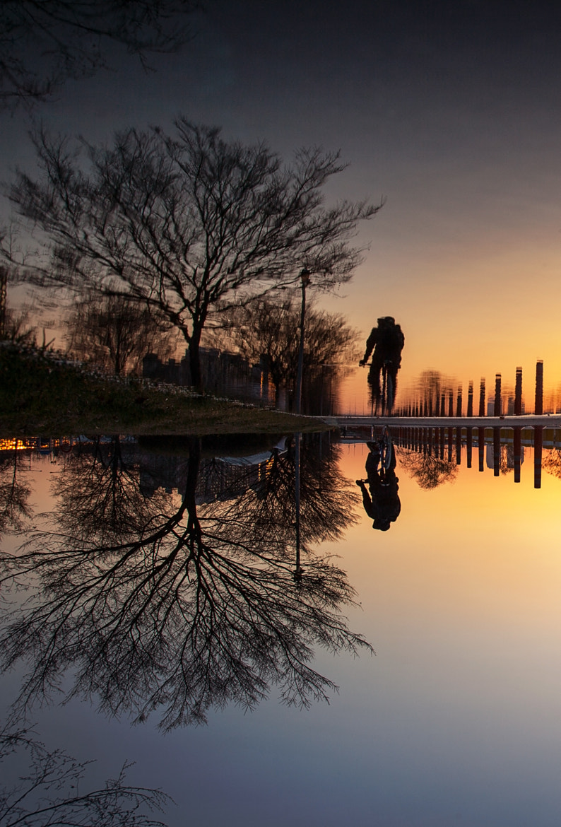 Photograph Ride on Mirror 2 (Reflection) by Praveller B.S on 500px