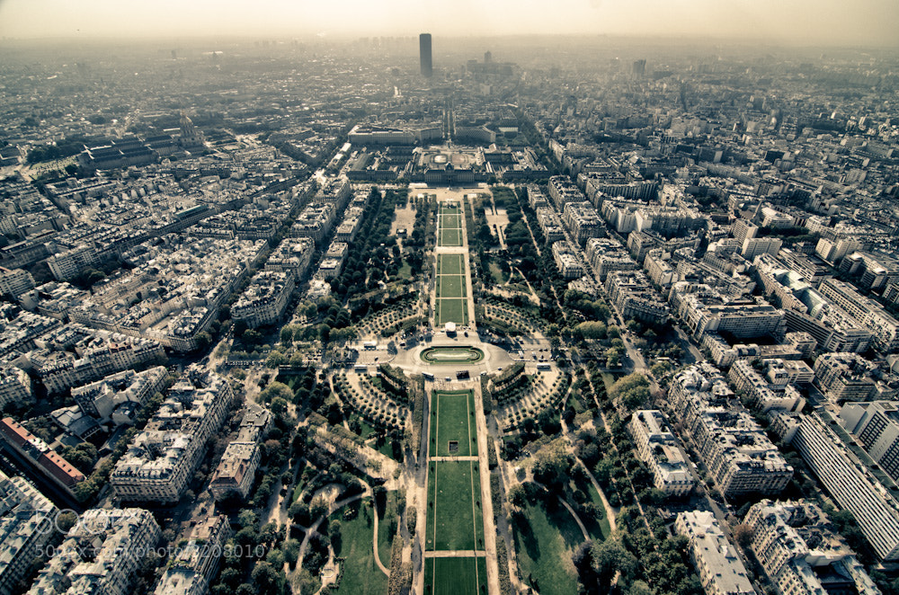Photograph Champs de Mars by Trevin Chow on 500px