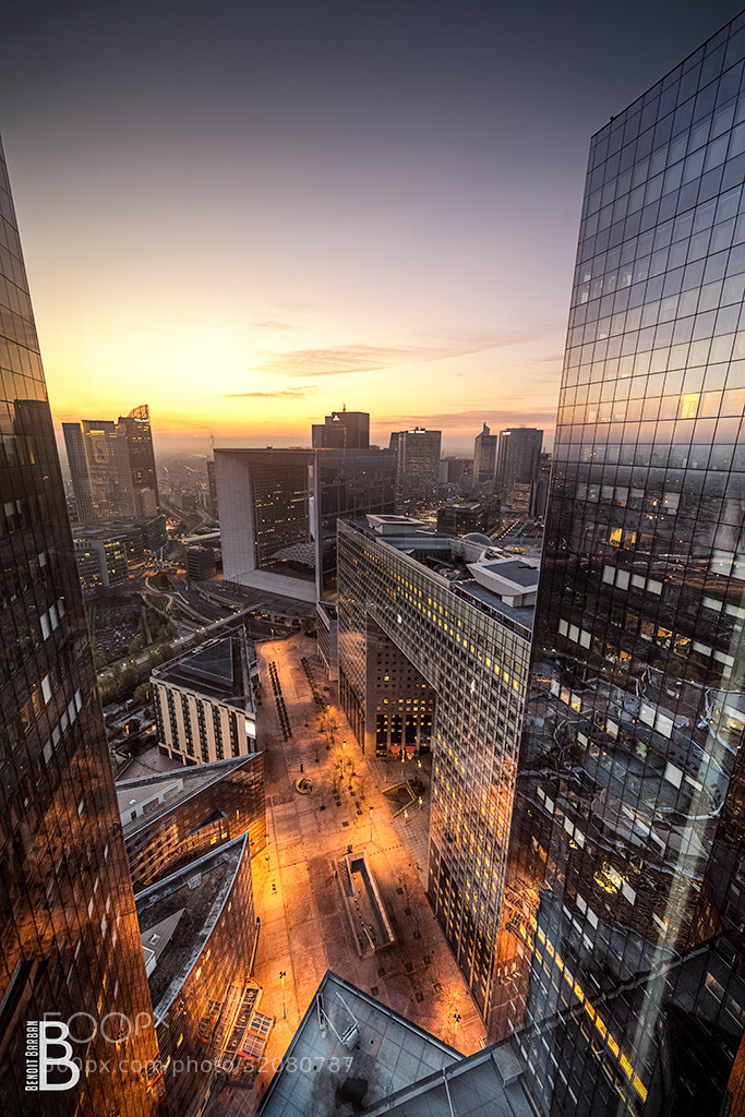 Photograph Sunset Paris La Défense - Alicante by Benoit Barban on 500px