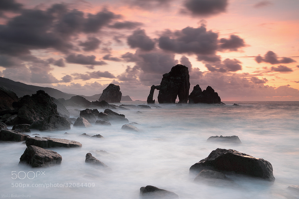 Photograph Praying in the Cathedral of the Sea by Iñaki Bolumburu on 500px