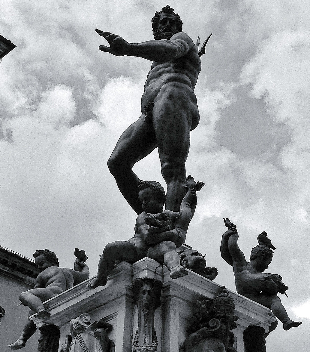 Photograph Neptune B&W by Cesare  on 500px