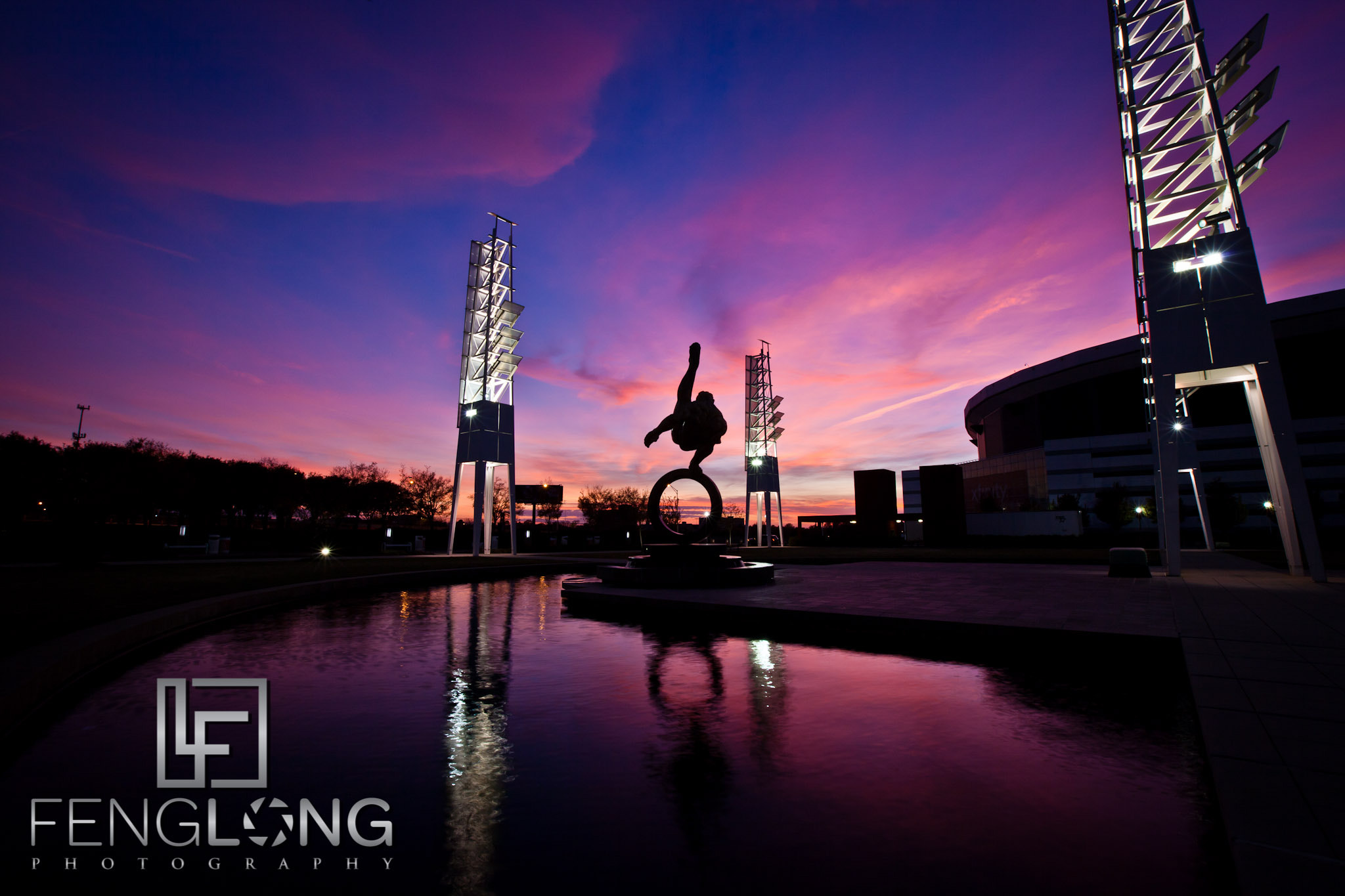Photograph Georgia Dome Sunset by Zachary Long on 500px