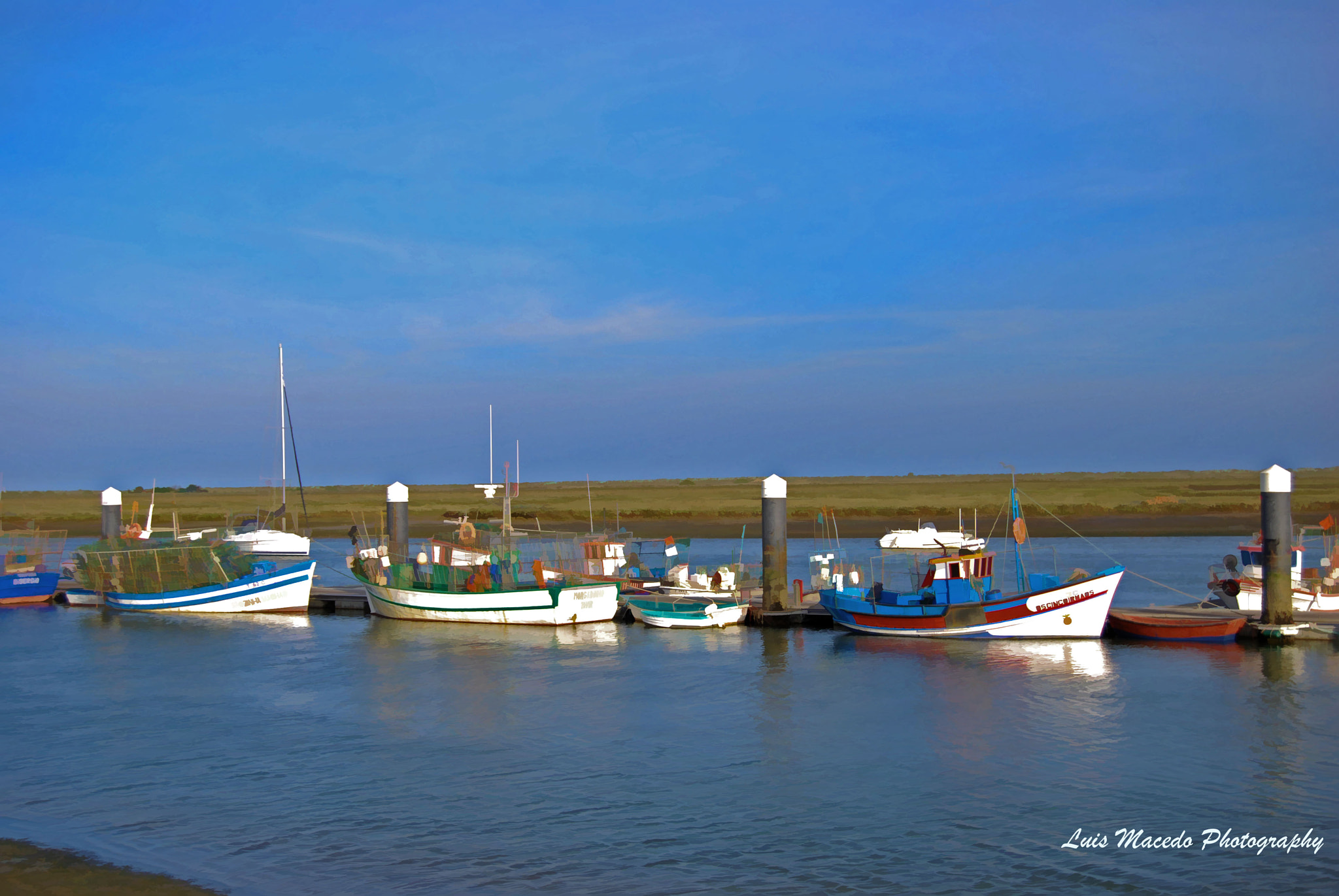 Photograph Tavira - Santa Luzia- Boats by Luis Pereira on 500px