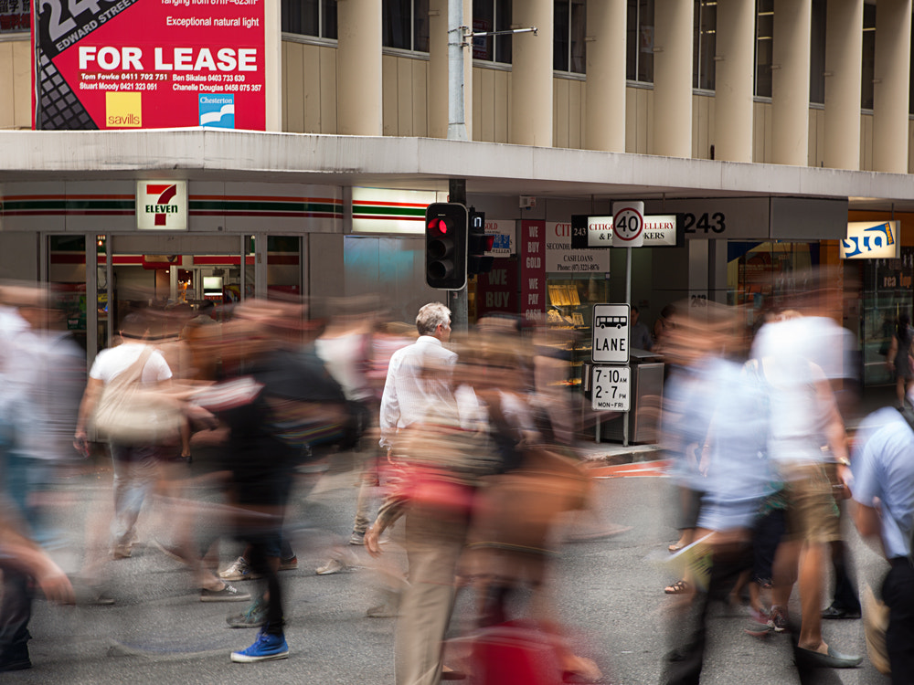 Photograph City Rush by Tim McGuire on 500px