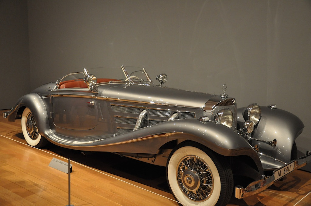 Photograph Mercedes Benz 540K Special Roadster by Brian DeWitt on 500px
