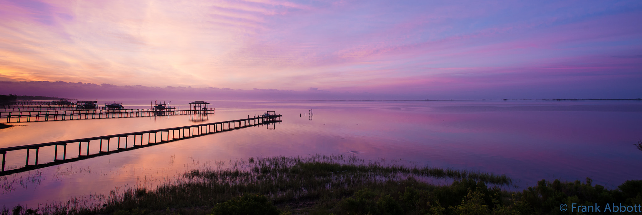 Photograph Sunrise Santa Rosa Sound by Franklin Abbott on 500px