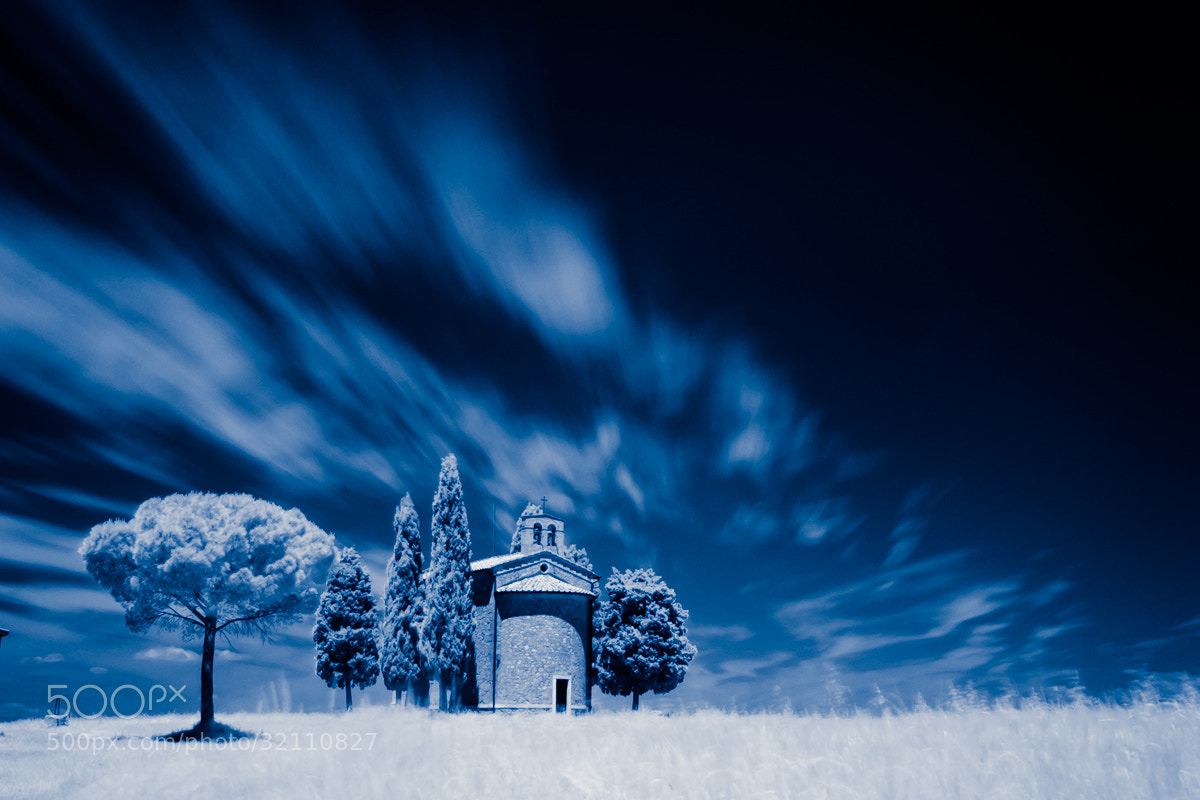 Photograph Vitaleta in Blue by Maurizio Zorzan on 500px