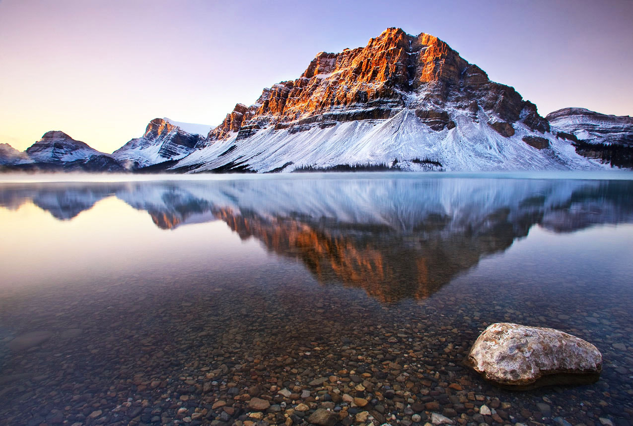 Photograph Bow Lake, Banff National Park by Quynh Ton on 500px