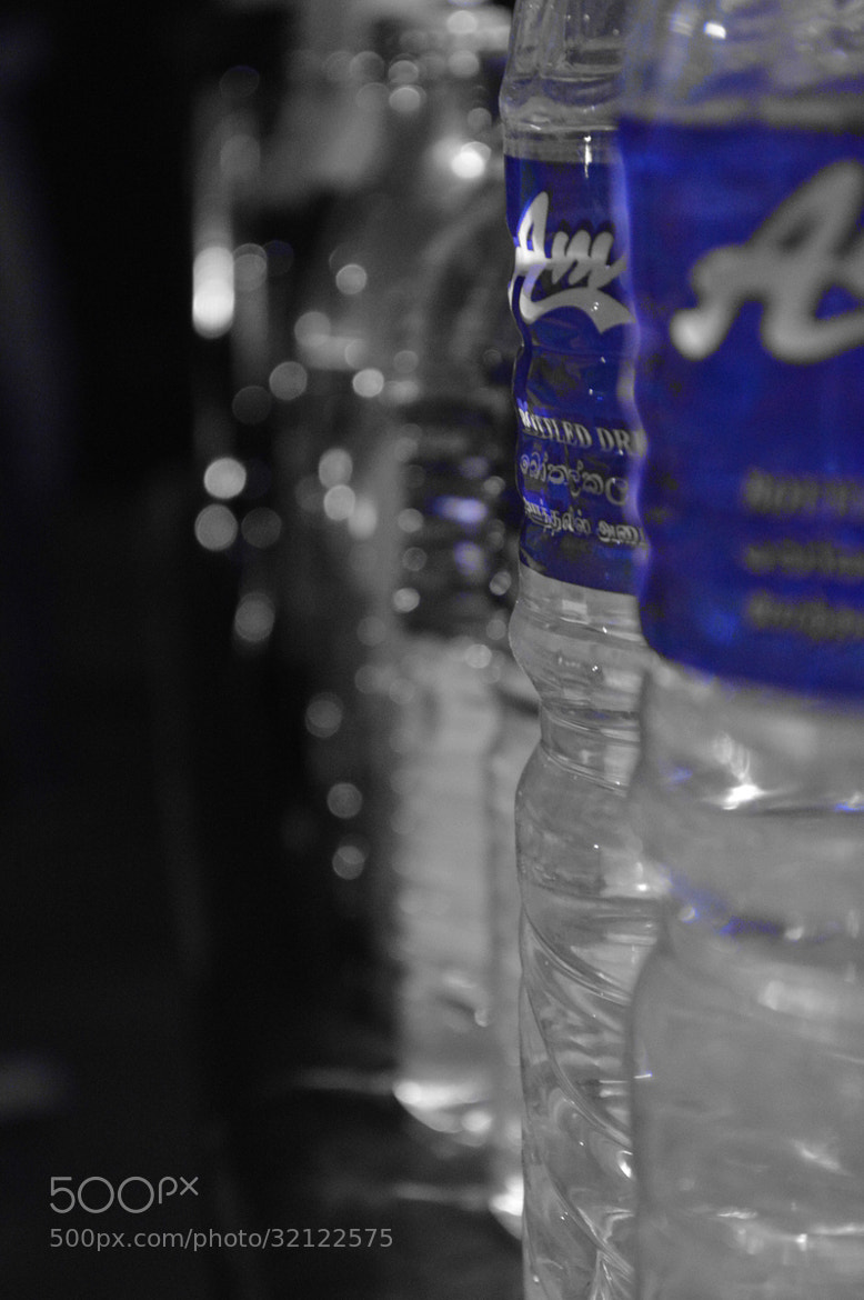 Photograph Bottles of water by Zayan  on 500px