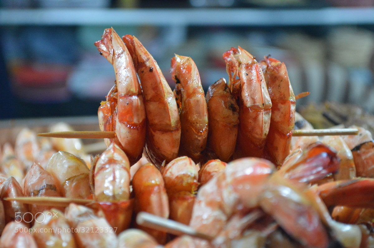 Photograph Prawn Kebabs at Galle Face by Zayan  on 500px