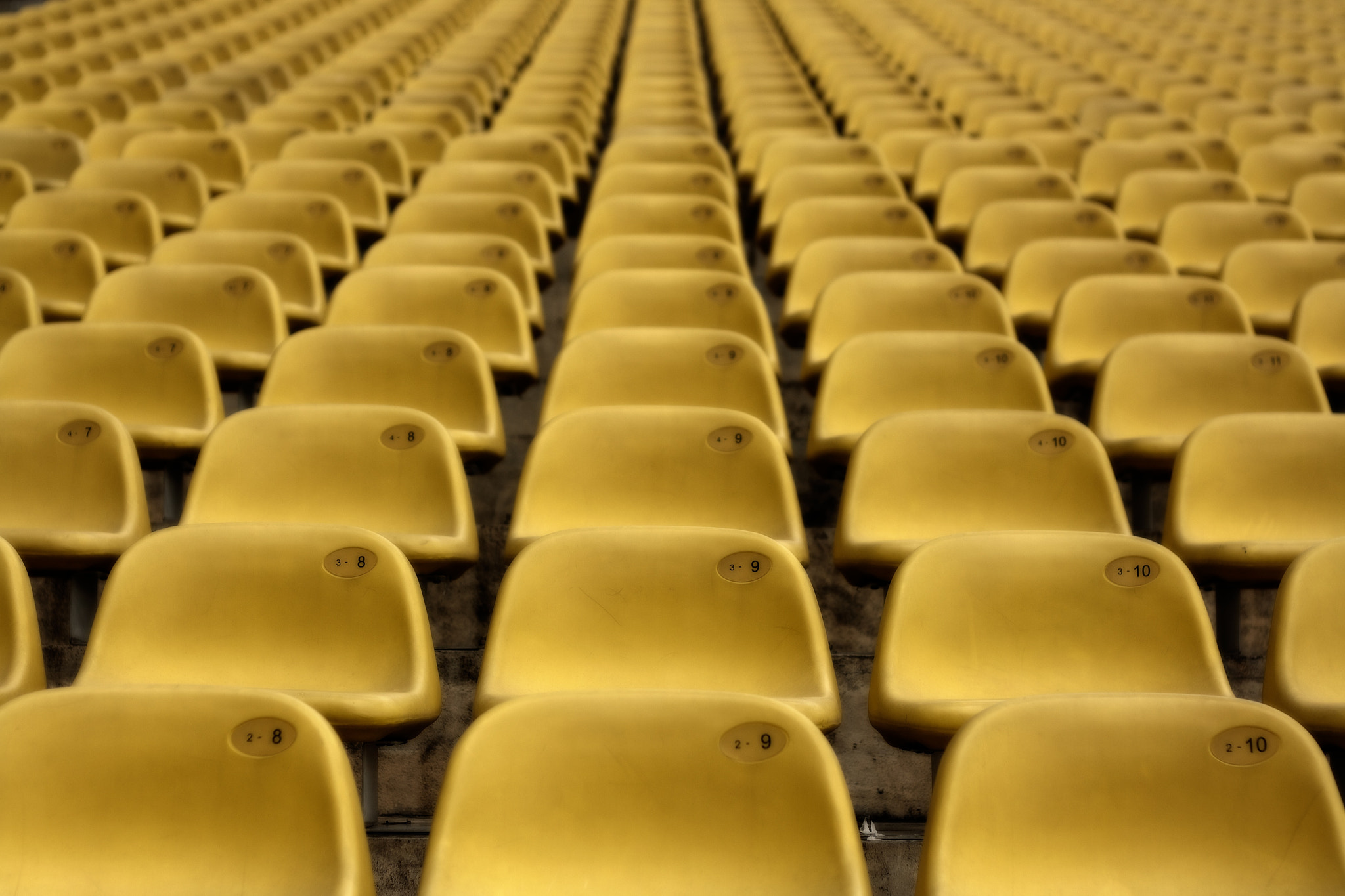 Photograph Stadium Seats by Pete Letteney on 500px