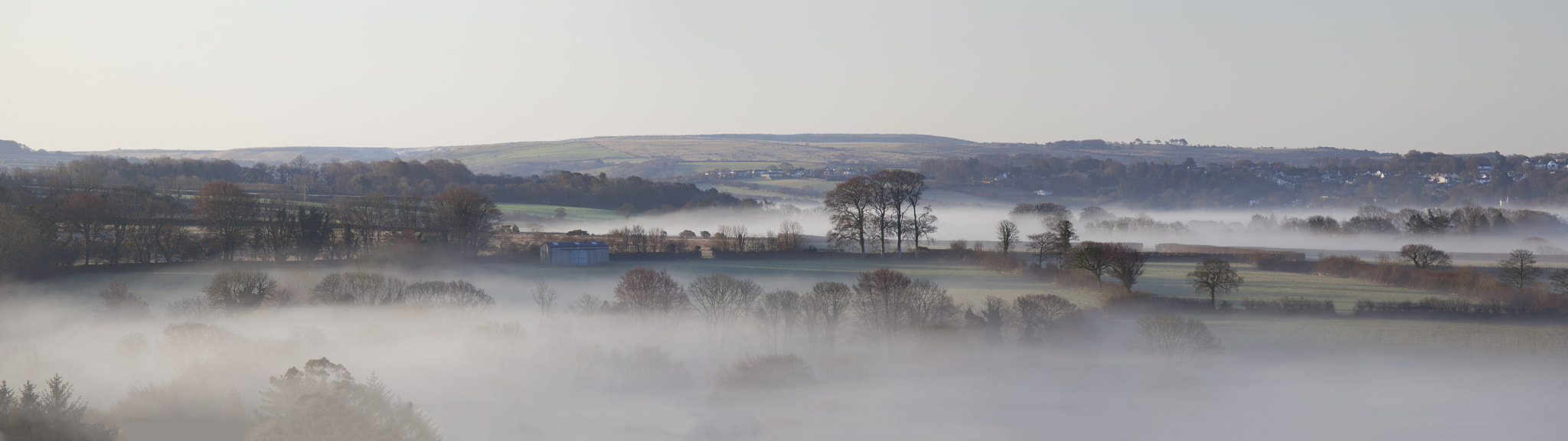 Photograph Mist over Dartmoor by Daniel Hannabuss on 500px