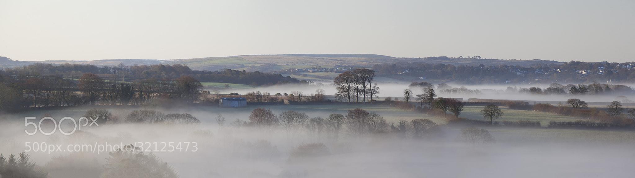 Photograph Mist over Dartmoor by Daniel Hannabuss on 500px