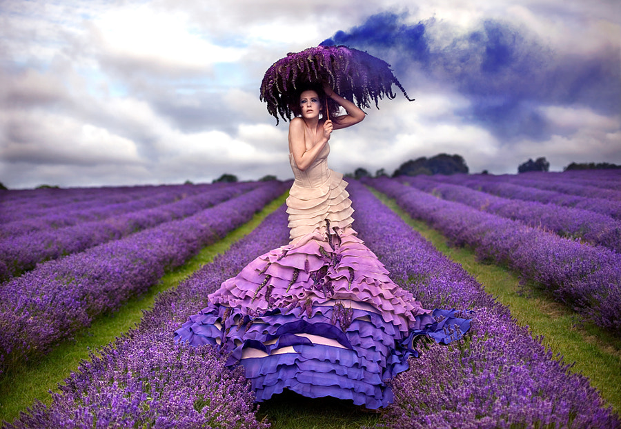 The Lavender Princess by Kirsty Mitchell on 500px.com