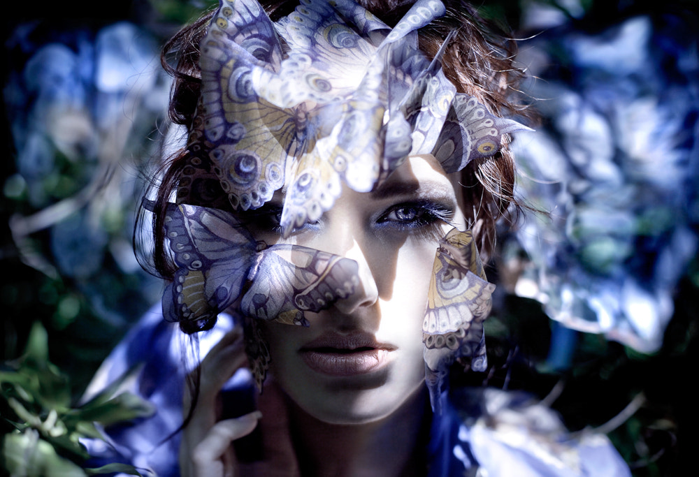 Photograph Danaus  (The butterfly queen) by Kirsty Mitchell on 500px