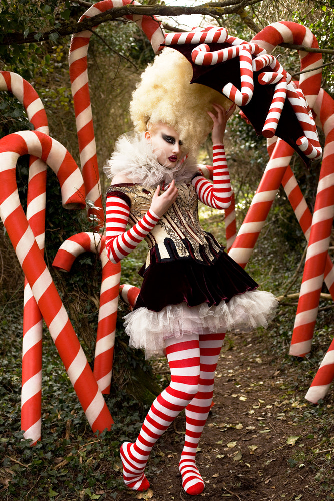 Photograph The Vanity Of The Candy Cane Witch by Kirsty Mitchell on 500px