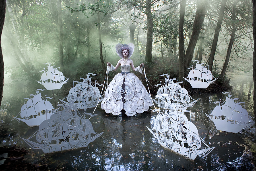 Photograph The Queen's Armada by Kirsty Mitchell on 500px