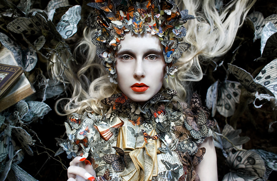 The Ghost Swift by Kirsty Mitchell on 500px.com