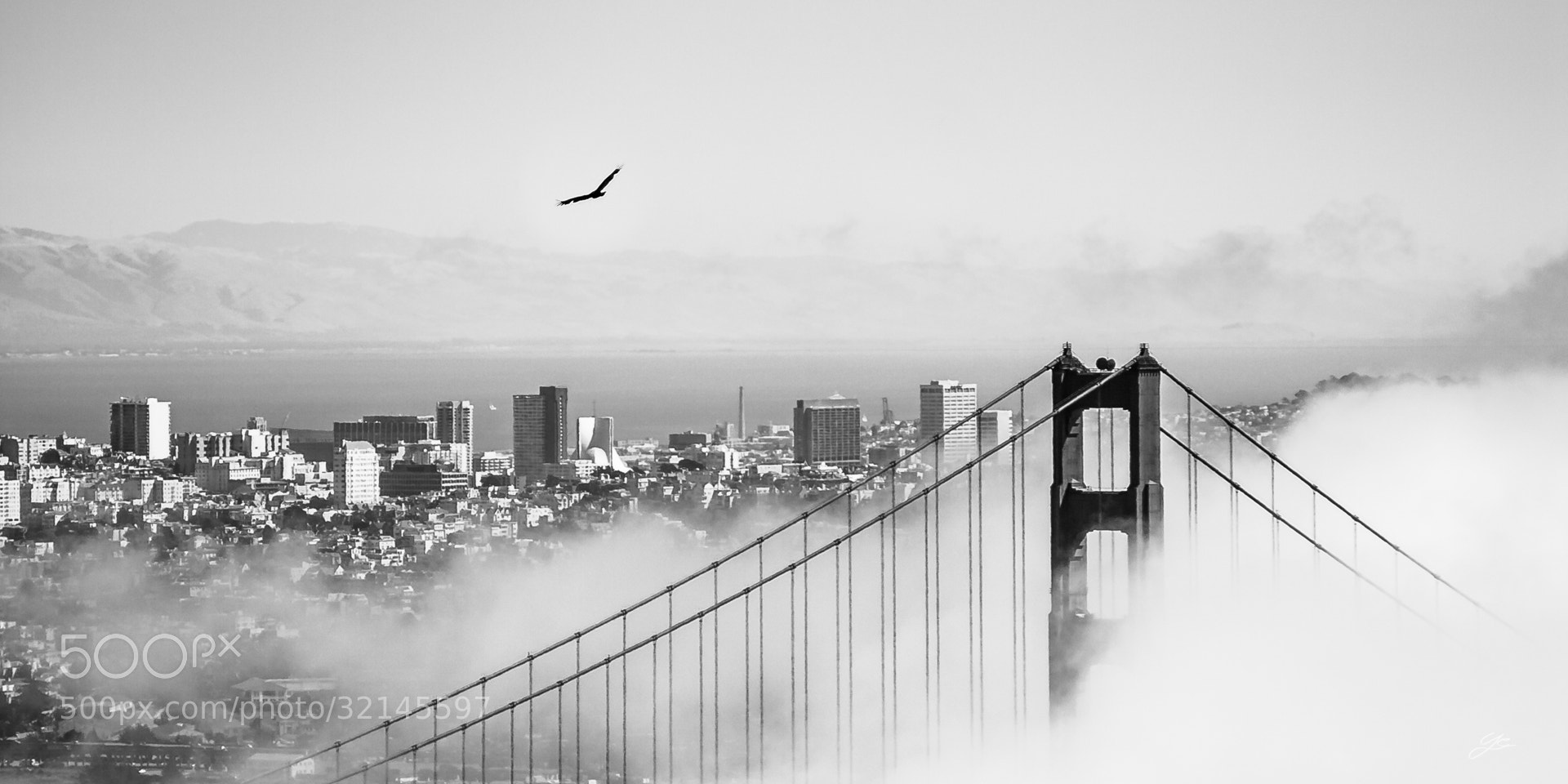 Photograph Golden Gate Instant by Yannick Carbonneaux on 500px