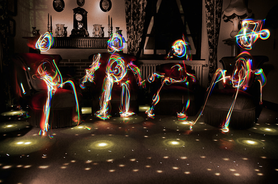 Photograph * Disco night at the ancestors * by clement jousse on 500px