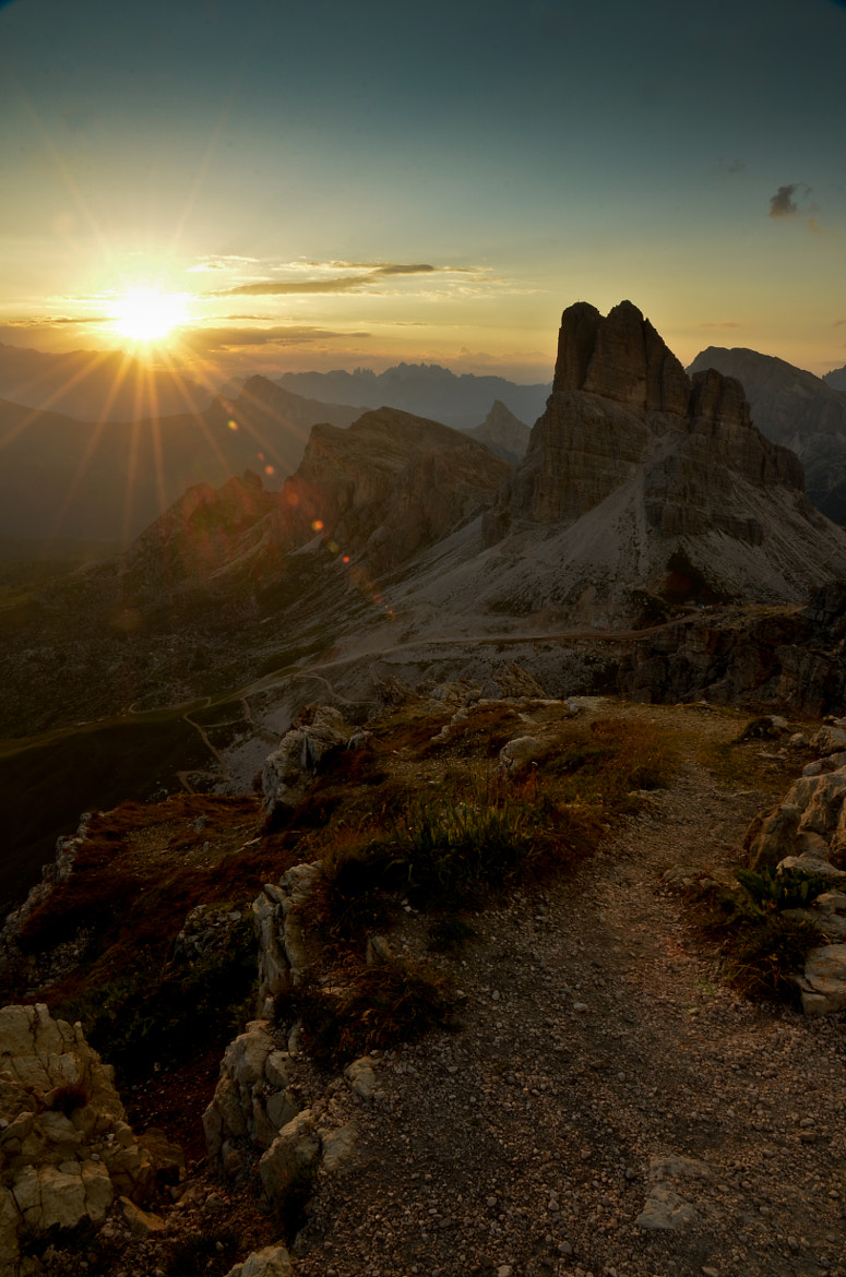 Photograph Sunset Passo Giau by Gabriele Ciulli on 500px