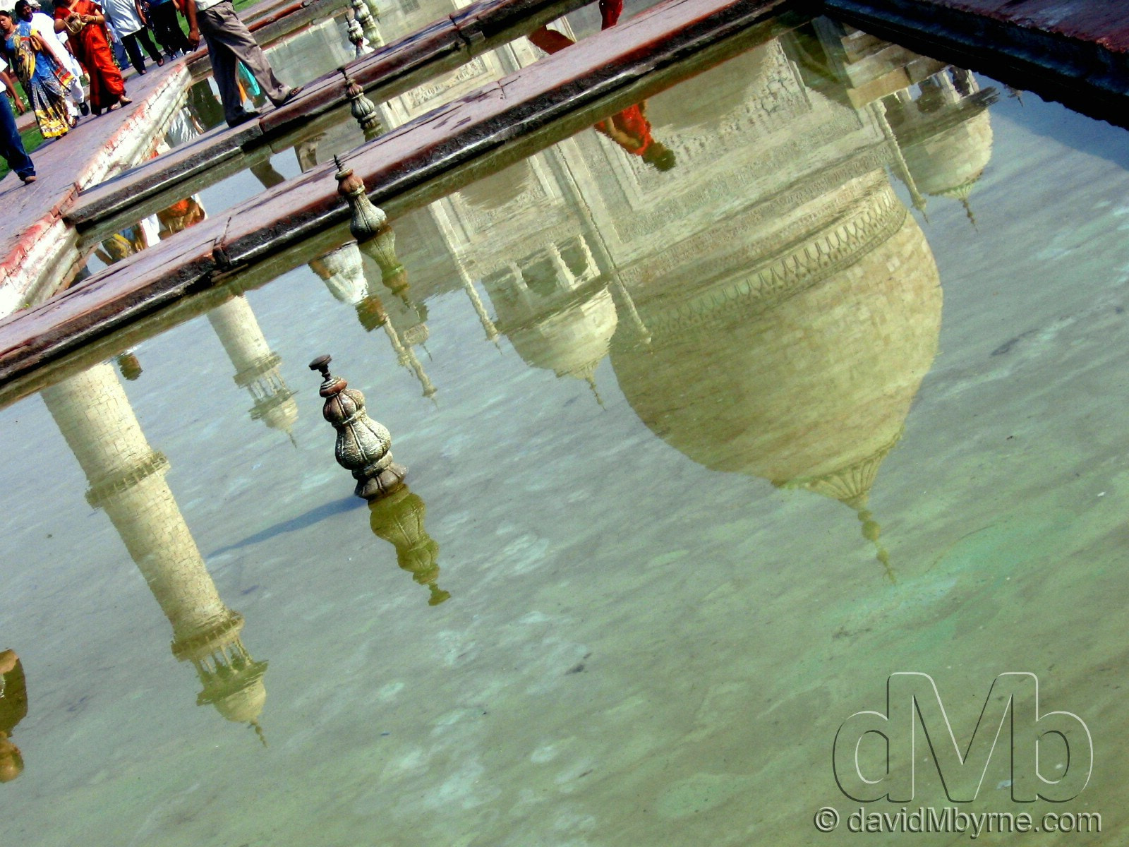 Photograph Taj Mahal Reflection by davidMbyrne  on 500px