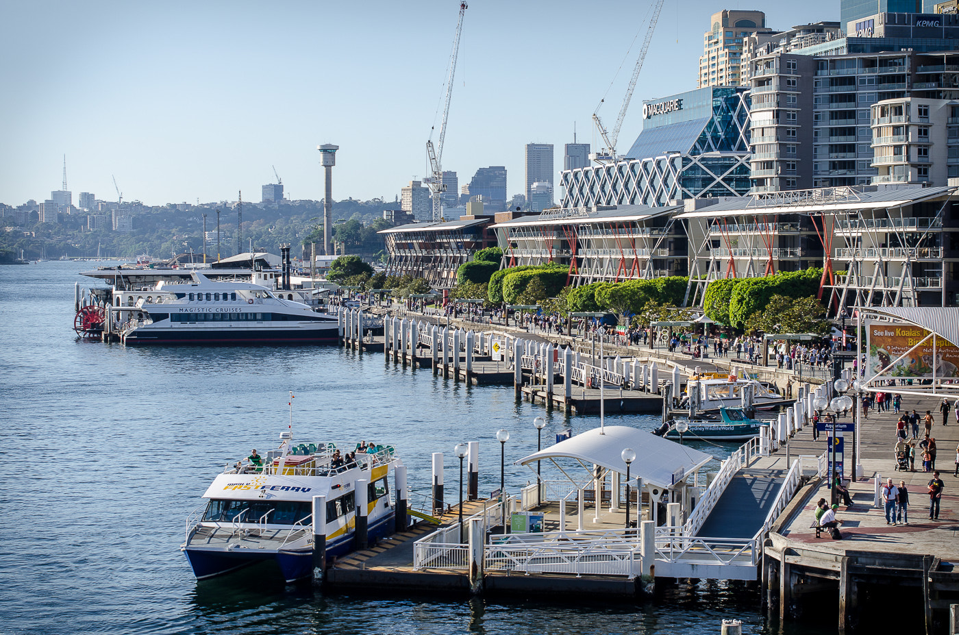 Photograph King St. Wharf by zed1 on 500px