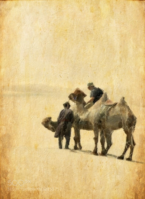 Photograph Memories of the Gobi : Recycled Master Prints by Jerry Diakiw on 500px