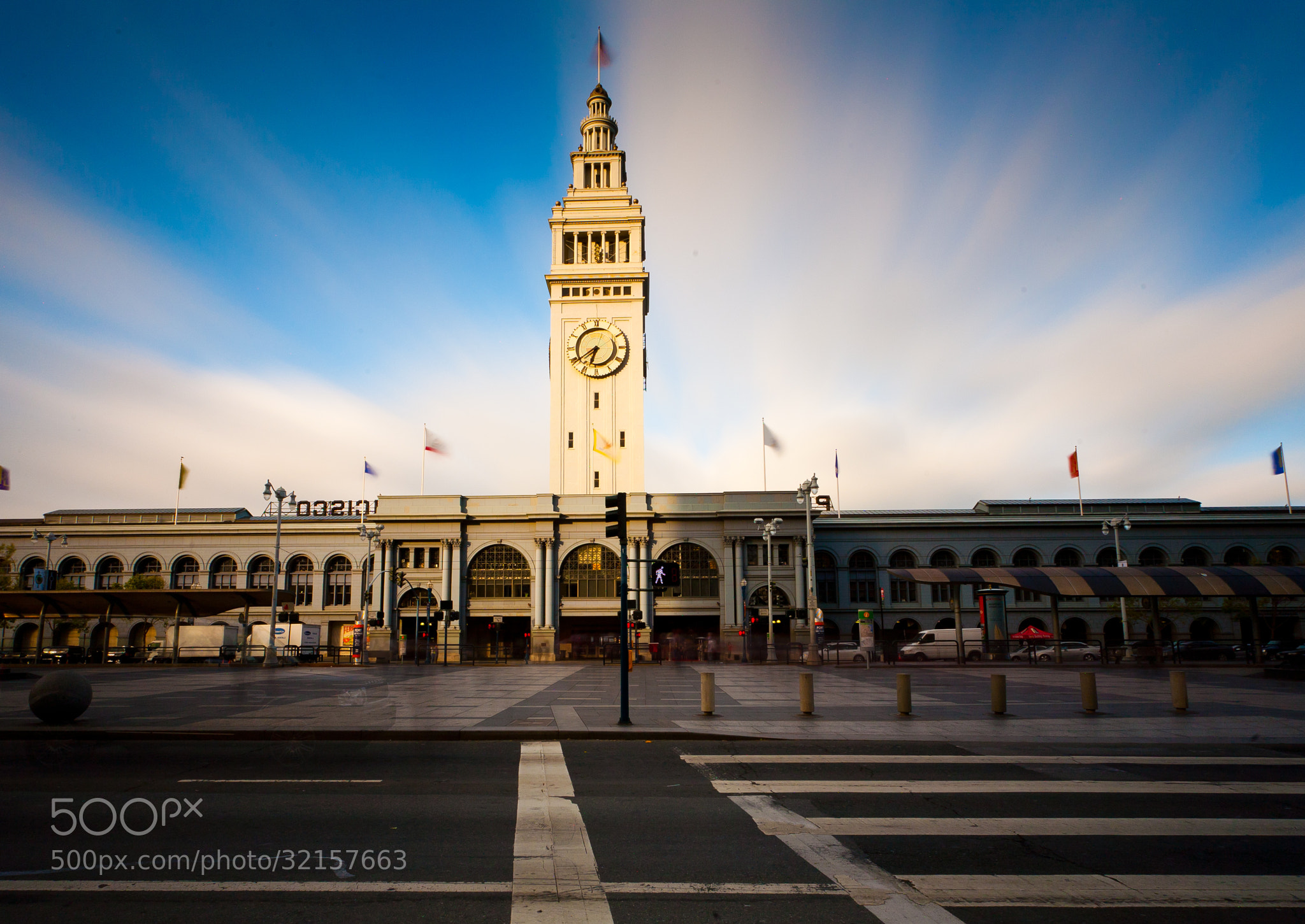 Photograph Clouds over the Ferry Building by Anakin Yang on 500px
