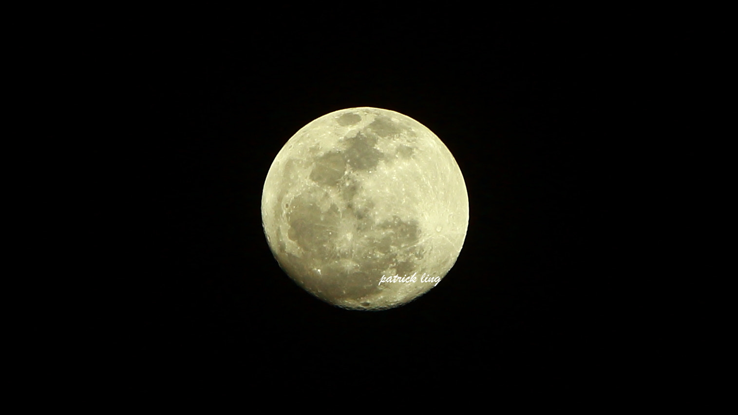 Photograph when Full Moon by Patrick Ling on 500px