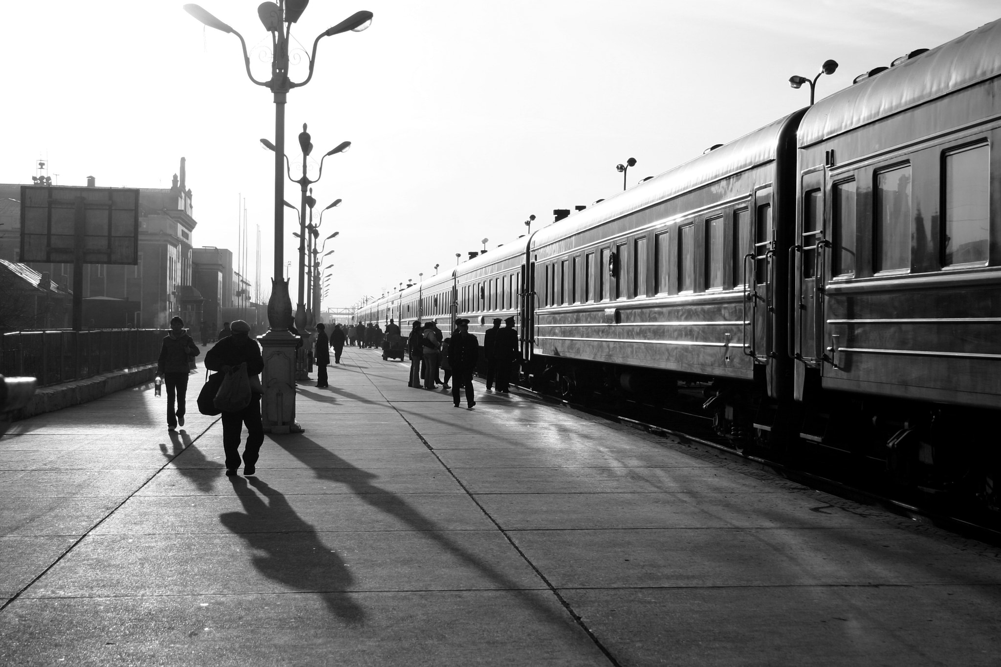 Photograph Ulaanbaatar Station by Phet Jitsuwan on 500px