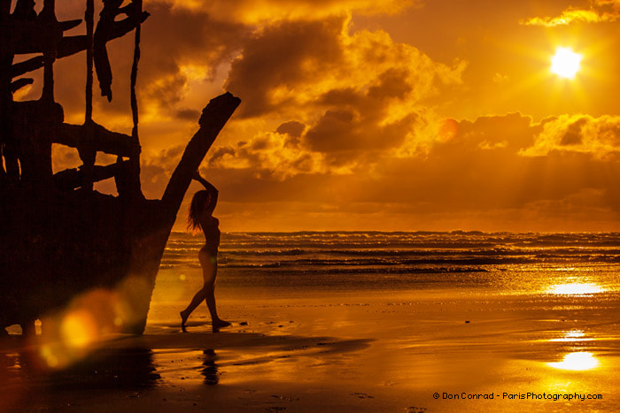 Photograph Jaimie : Shipwreck Sunset by Paris Photography on 500px
