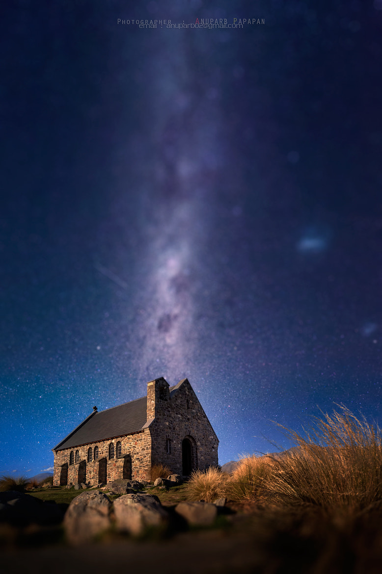 Photograph The Church of Good Shepherd Tilt-shift by Anuparb Papapan on 500px