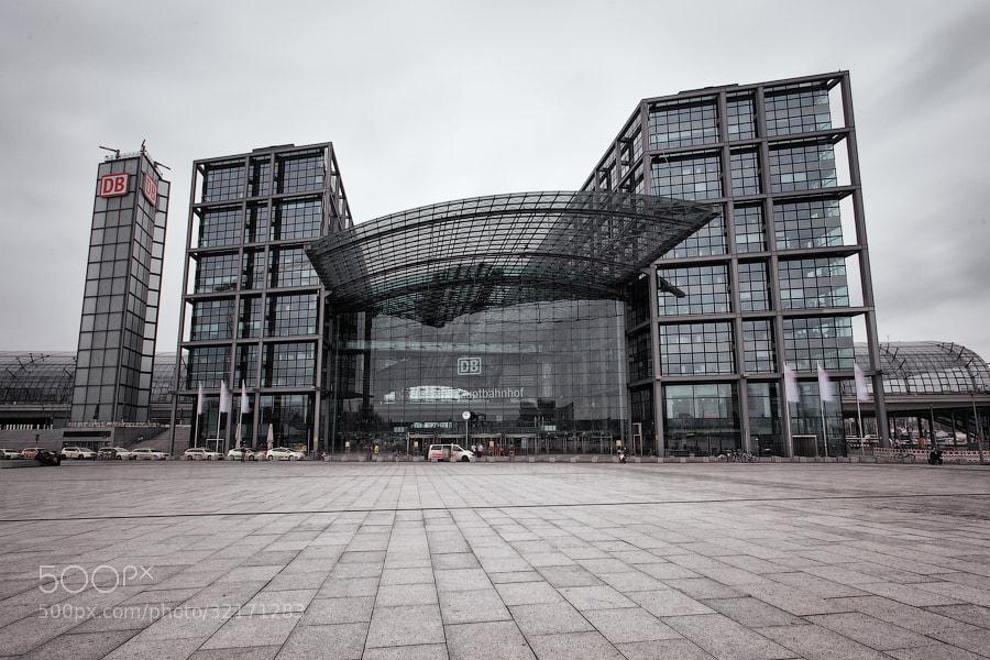 Photograph Berlin Hauptbahnhof by Alexander Dragunov on 500px