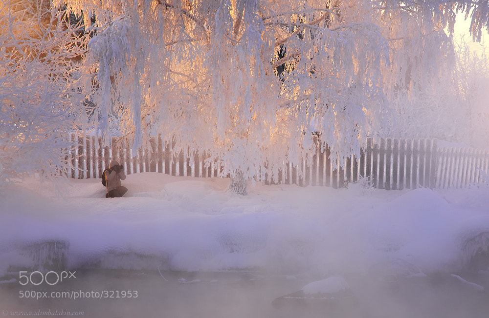 Photograph Shooting winter by Vadim Balakin on 500px