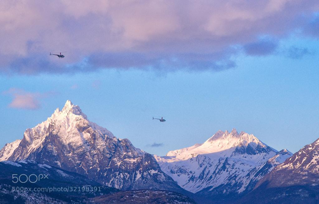 Photograph Ushuaia. Monte Olivia. Argentina by Kot Basilio on 500px