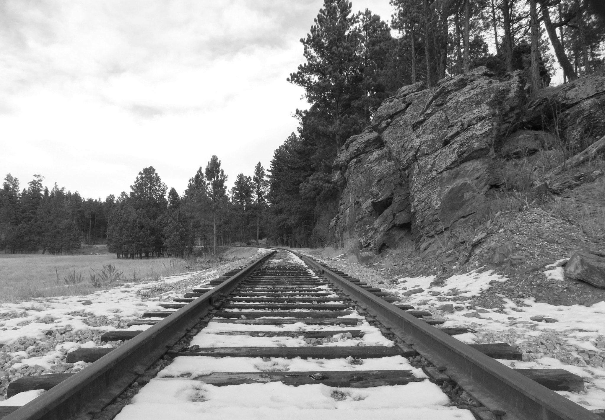 Photograph Railroad tracks in the Black Hills by Kevin Fechtelkotter on 500px