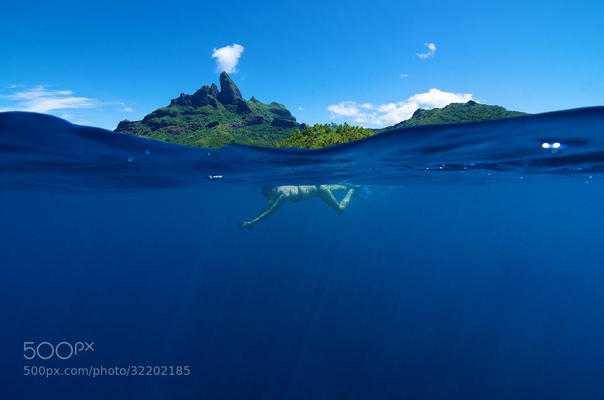 Photograph Snorkeling Under Otemanu by David Kosmos Smith on 500px